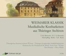 Weimarer Klassik – Musikalische Kostbarkeiten aus Thüringer Archiven (Exklusiv für jpc), 3 CDs