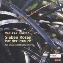 """Violeta Dinescu (geb. 1953): Musik für Flöte solo """"Sieben Rosen hat der Strauch"""", CD"""