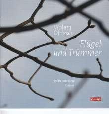 """Violeta Dinescu (geb. 1953): Klavierwerke """"Flügel und Trümmer"""", CD"""