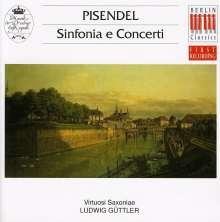 Johann Georg Pisendel (1687-1755): Sinfonia & Concerti, CD