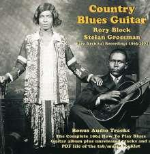 Rory Block & Stefan Grossman: Country Blues Guitar, CD