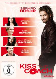 Kiss The Coach, DVD