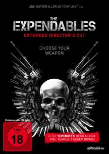 The Expendables (Extended Director's Cut), DVD