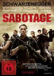Sabotage (2014), DVD
