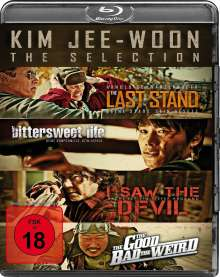 Kim Jee-Woon: The Selection (Blu-ray), 4 Blu-ray Discs