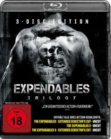 The Expendables Trilogy (Blu-ray), 3 Blu-ray Discs