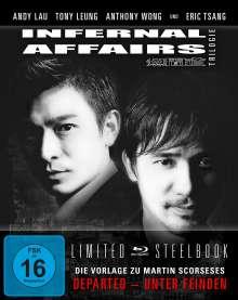 Infernal Affairs Trilogie (Blu-ray im Steelbook), 3 Blu-ray Discs