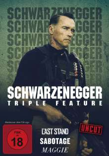 Arnold Schwarzenegger Triple Feature, 3 DVDs