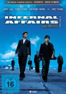 Infernal Affairs Trilogie (Steelbook), 3 DVDs