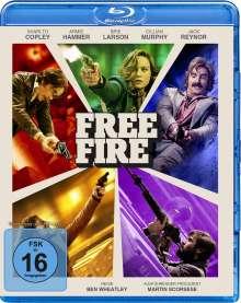 Free Fire (Blu-ray), Blu-ray Disc