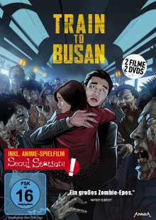 Train to Busan (inkl. Seoul Station), 2 DVDs