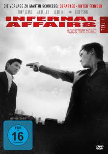 Infernal Affairs, DVD