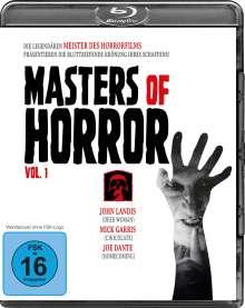 Masters of Horror Vol. 1 (Blu-ray), Blu-ray Disc