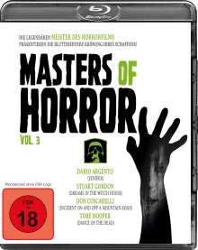 Masters of Horror Vol. 3 (Blu-ray), Blu-ray Disc
