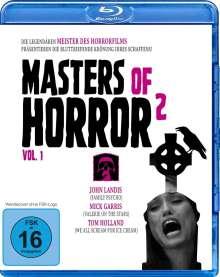 Masters of Horror 2 Vol. 1 (Blu-ray), Blu-ray Disc