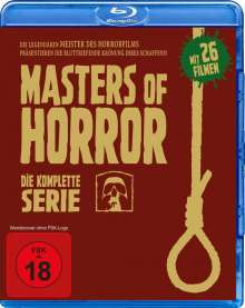 Masters of Horror (Komplette Serie) (Blu-ray), 8 Blu-ray Discs