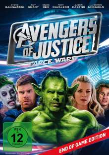 Avengers of Justice: Farce Wars, DVD