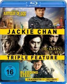 Jackie Chan Triple Feature (Blu-ray), 3 Blu-ray Discs