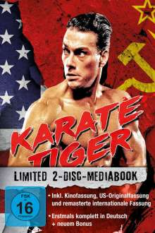 Karate Tiger (Blu-ray im Mediabook), 2 Blu-ray Discs