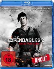 The Expendables 2 - Back For War (Blu-ray), Blu-ray Disc