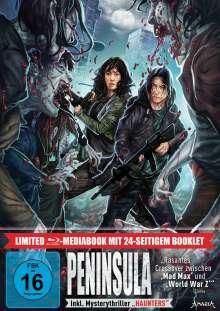 Peninsula (Blu-ray im Mediabook), 1 Blu-ray Disc und 1 DVD