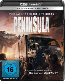 Peninsula (Ultra HD Blu-ray & Blu-ray), 1 Ultra HD Blu-ray und 1 Blu-ray Disc