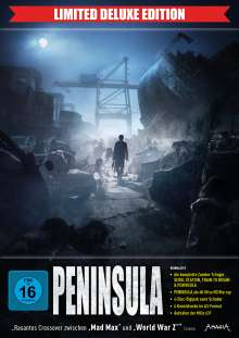 Peninsula (Limited Deluxe Edition) (Ultra HD Blu-ray & Blu-ray im Digipack inkl. Schuber), 1 Ultra HD Blu-ray und 3 Blu-ray Discs