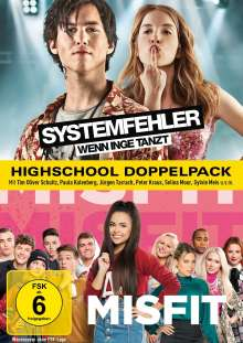 Highschool Doppelpack: Systemfehler / Misfit, 2 DVDs