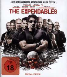 The Expendables (Special Edition) (Blu-ray), Blu-ray Disc