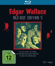Edgar Wallace Edition 5 (Blu-ray), 3 Blu-ray Discs