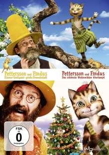 Pettersson und Findus 1 & 2, 2 DVDs