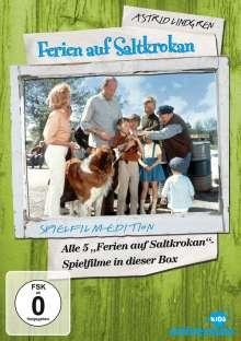 Ferien auf Saltkrokan 1-5, 5 DVDs