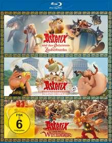 Asterix 3er-Box (Blu-ray), 3 Blu-ray Discs