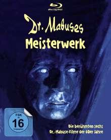 Dr. Mabuses Meisterwerk (6 Mabuse-Filme) (Blu-ray), 6 Blu-ray Discs