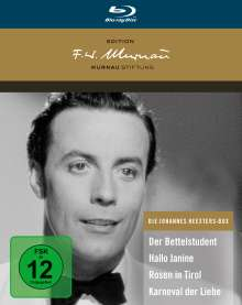 Die Johannes Heesters-Box (Deluxe Edition) (Blu-ray), 4 Blu-ray Discs