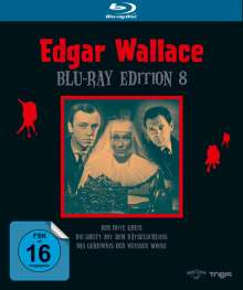 Edgar Wallace Edition 8 (Blu-ray), 3 Blu-ray Discs