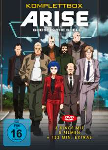 Ghost in the Shell - ARISE (Komplettbox), 3 DVDs