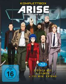Ghost in the Shell - ARISE (Komplettbox) (Blu-ray), 3 Blu-ray Discs