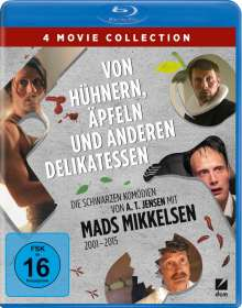 Von Hühnern, Äpfeln und anderen Delikatessen (Blu-ray), 4 Blu-ray Discs