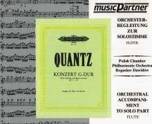 Quantz:Flötenkonzert in G QV 5:174, CD
