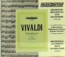 Vivaldi:Violinkonzert RV 265, CD