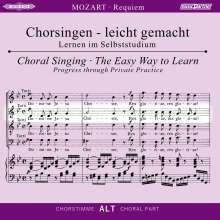 Chorsingen leicht gemacht:Mozart,Requiem (Alt), CD