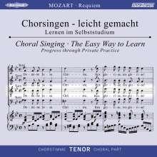 Chorsingen leicht gemacht:Mozart,Requiem (Tenor), CD