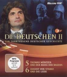 Die Deutschen II Teil 5+6: Thomas Müntzer / August (BR), Blu-ray Disc