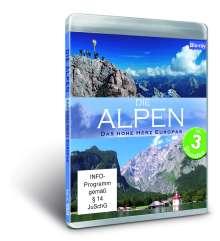 Die Alpen: Deutschland & Österreich / Italien & Schweiz (Blu-ray), Blu-ray Disc
