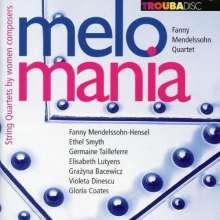 Fanny Mendelssohn Quartet - Melomania, CD