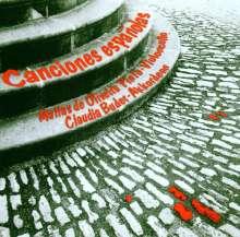"""Musik für Cello & Akkordeon - """"Canciones espanolas"""", CD"""