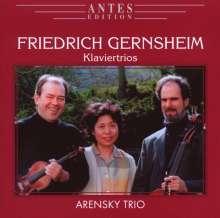 Friedrich Gernsheim (1839-1916): Klaviertrios Nr.1 & 2, CD