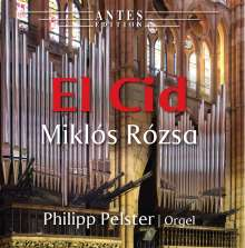 Miklos Rozsa (1907-1995): El Cid für Orgel, CD