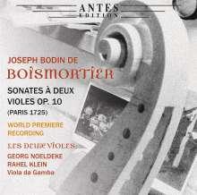 Joseph Bodin de Boismortier (1689-1755): Sonaten für 2 Violen op.10 Nr.1-6, CD